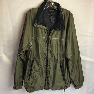 Nautica Competition Zippier Front Jacket Sz L Mens